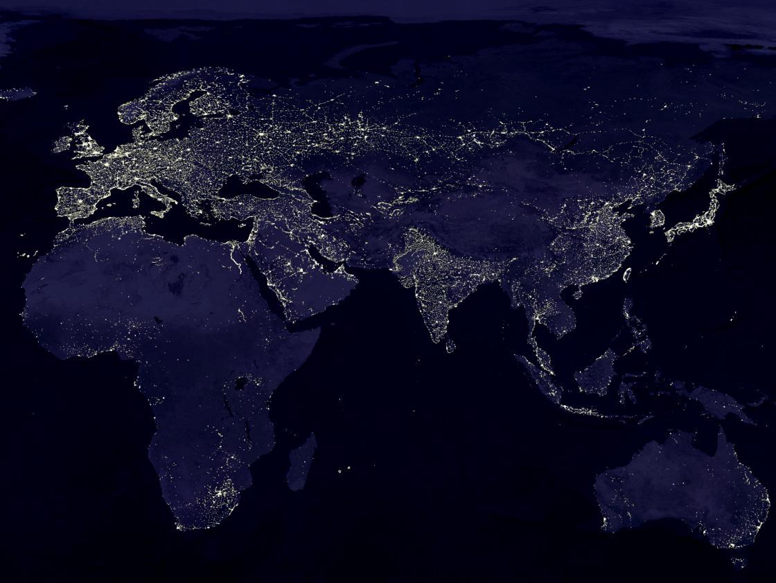 Lichtverschmutzung Karte Europa.Led Lampen Gegen Lichtverschmutzung
