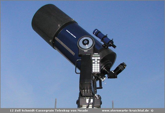 12 zoll spiegelteleskop von meade
