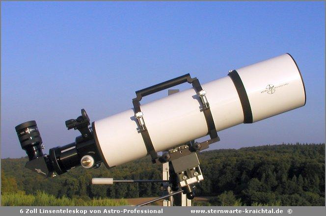 Zoll linsenteleskop von astro professional