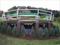 10-Plattform-bepflanzt